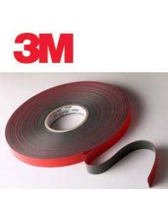 """3M™ 4611 DARK GRAY 45 MIL VHB™ TAPE 1"""" X 36 YD"""