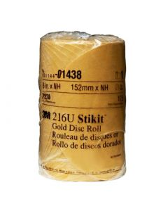 3M™ STICKIT™ GOLD DISC ROLL P220 GRIT 1438