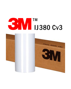 3M™ Controltac™ Graphic Film with Comply™ v3 Adhesive IJ380Cv3