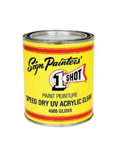 Speed Dry UV Acrylic Clear 4005