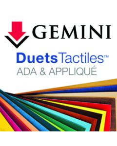 Duets™ by Gemini ADA Engraving Substrates