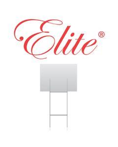 "ELITE® STANDARD 10"" X 30"" COROPLAST SIGN STAKE"