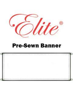 ELITE® 13 OZ PRE-SEWN BANNER BLANK 2'x4'