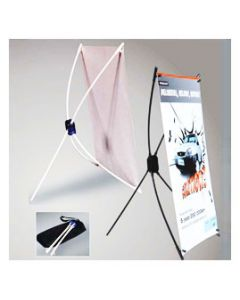 """Elite™ X Style Banner Stand 24"""" X 63"""""""