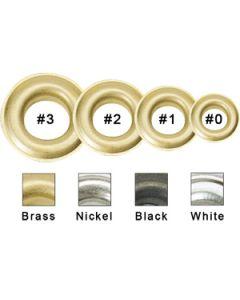 """#2 3/8"""" Black Grommets"""