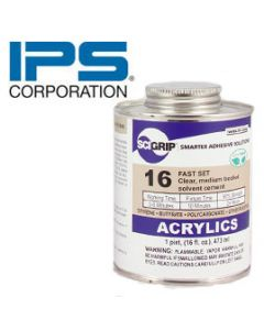 IPS 16 Weld-On Cement/PT