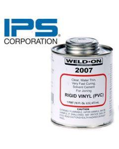 IPS 2007 Weld-On Cement/PT