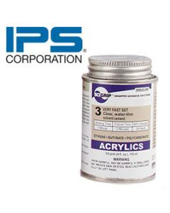 IPS 3 Weld-On Cement /4OZ