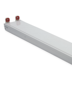 4' LED Tube Ready Strip Fixture, 2 Lamp