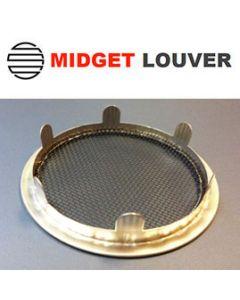 "Midget Louvres LD-4 6 Tab RLS - 4"""