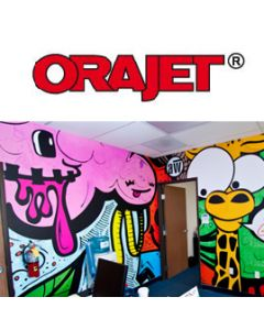 ORAJET® 3268 Digital Low-Tack Movable Wall Graphic