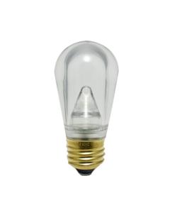LED S14 Smooth Plastic Bulb