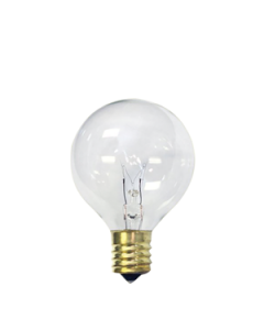 Sival  5W, G30 Medium Base Clear Incandescent