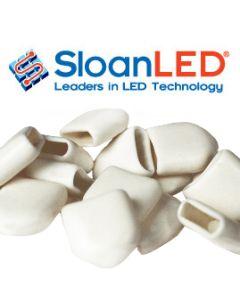 Acrylic end cap for LEDStripe
