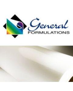 222 Semi Rigid White Matte PVC  Permanent Adhesive
