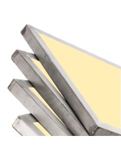 Xenon Yellow Aluminum Frames